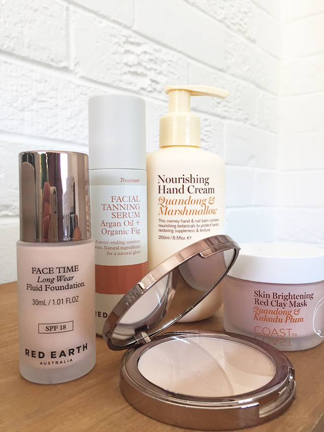 coast to coast review hand cream leg balm mask liv lundelius makeup artist red earth foundation
