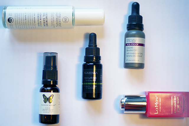 best oils for each skintype organic skincare face oils review Liv Lundelius